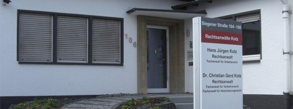 Rechtaanwaltskanzlei Kotz in Kreuztal