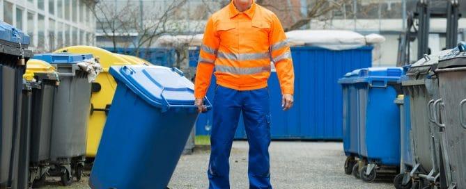 Verlegung eines Mülltonnen-Platzes in Nähe der Mietwohnung - Mietminderungsanspruch