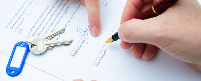Mietvertrag - Echtheit oder Unechtheit der Urkunde