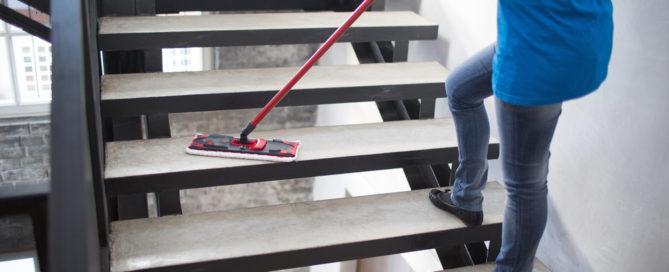 Obhuts- und Reinigungspflicht des Wohnraummieters
