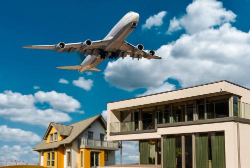 Zustimmungsklage zur Wohnraummieterhöhung - Wohnwertminderung Fluglärmbelastung