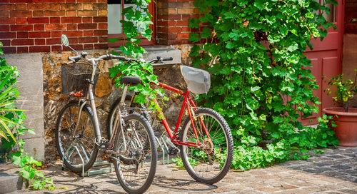 Widerruf der Gestattung zum Abstellen von Fahrrädern auf dem Hof durch Vermieter